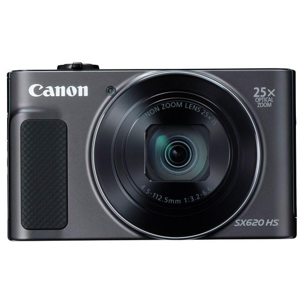 Canon powershot sx620hs negro cámara compacta 20.2mp full hd 25x gran angular digic4+ wifi nfc