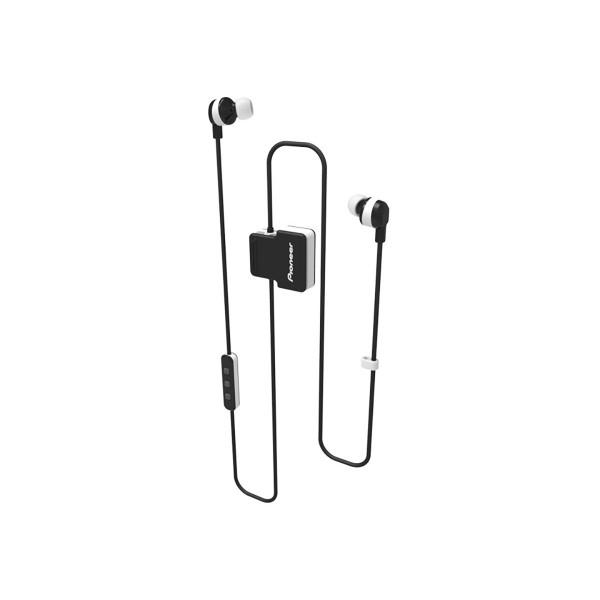 Pioneer se-cl5bt blanco auriculares inalámbricos bluetooth diseño en clip con micrófono ipx4