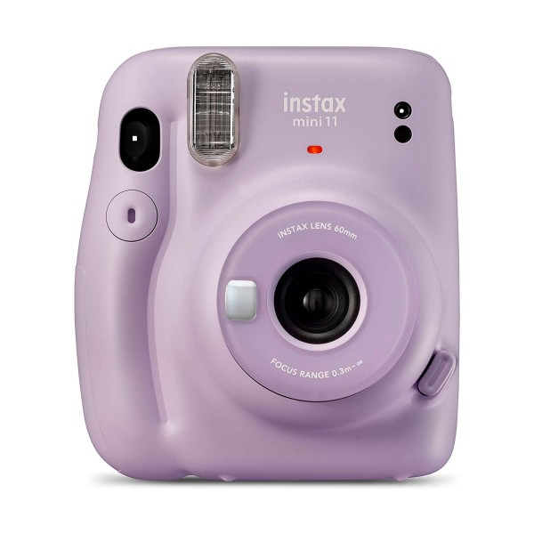 Fujifilm instax mini 11 lila cámara instantánea con flash de alto rendimiento