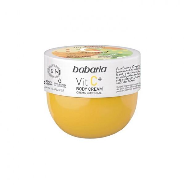 Babaria vit c+ body cream 400ml
